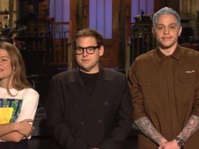 Pete Davidson Mocks His Split With Ariana Grande In New 'SNL' Promo By Proposing To Singer Maggie Rogers