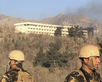 The Latest: Afghanistan says Kabul hotel siege killed 18