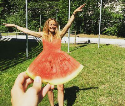 You're failing at summer fashion if you're not wearing a watermelon dress