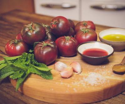 Heirloom Tomato Soup with Mint
