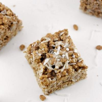 Chocolate Coconut Krispie Treats