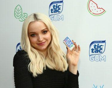 Dove Cameron Chews Gum Every Time She Acts & My Mind Is Blown - EXCLUSIVE