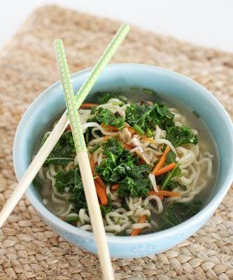 Fast and Healthy Top Ramen