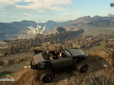 Final Fantasy 15 Regalia Type F and Type D: how to take to the skies and go off road by upgrading your car