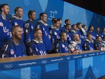 US men's hockey players becoming fast friends ahead of 1st Olympic faceoff