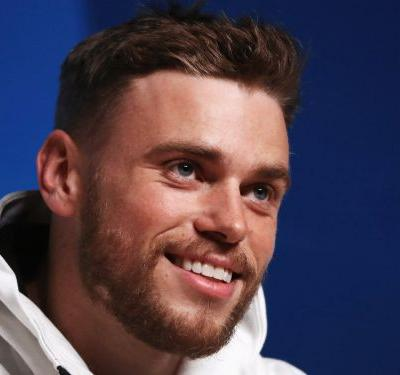 Olympian Gus Kenworthy shared a new photo of his severely bruised hip -and it's still looking rough