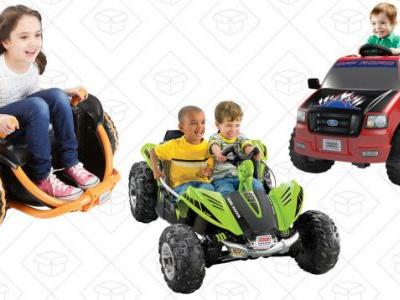 Make Some Kid's Year With Amazon's One-Day Power Wheels Sale