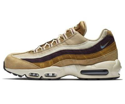 "Nike Air Max 95 Premium Sets the Gold Standard in ""Desert/Royal Tint"""