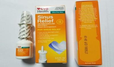 CVS Nasal Spray Recalled Due To Microbiological Contamination