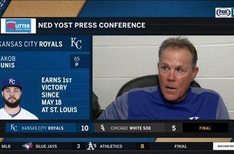 Yost on Royals' offense: 'I just like the way we're swinging the bats right now'