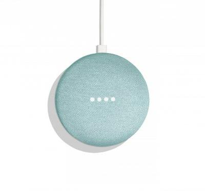 Google just released a new aqua version of the Home Mini, its super-popular $50 smart speaker