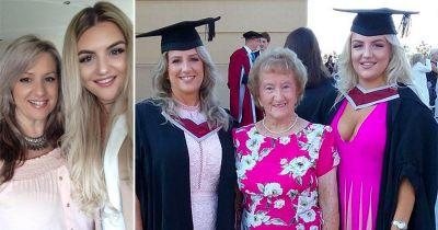 Mum and daughter who graduated university on the same day say they get mistaken for sisters