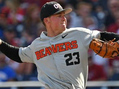 College World Series 2018: Oregon State's Kevin Abel delivers all-time pitching performance