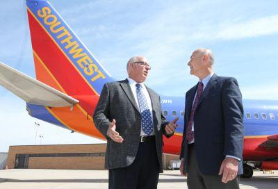 Southwest Airlines leaving Akron-Canton Airport in June