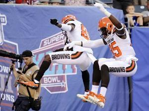 Mayfield and Barkley show the goods, Browns beat Giants