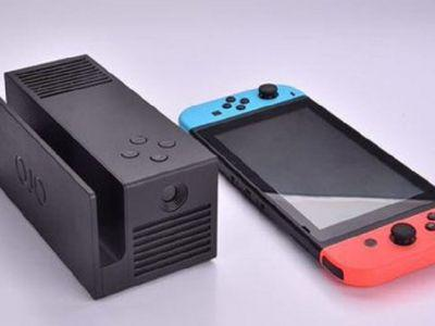 Switch projector 'OJO' begins crowdfunding campaign soon