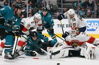 Panthers kick off 5-game road trip with big win over Sharks