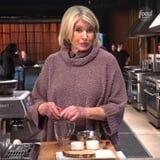 Martha Stewart's Hack to Scramble Eggs in a Cappuccino Machine Has the Internet in a Frenzy