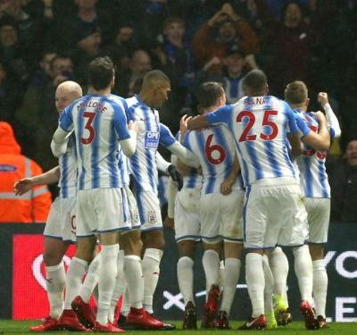 Watford 1 Huddersfield Town 4: Deeney sees red as Hornets' slump continues