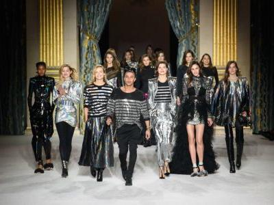 Every Look From Balmain's Fall 2018 Collection