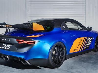 The Alpine A110 Has Morphed Into A GT4 Racer
