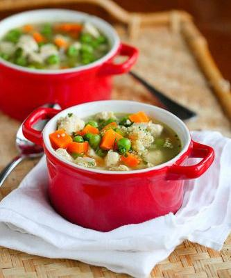 Chicken Soup Recipe with Quinoa & Vegetables