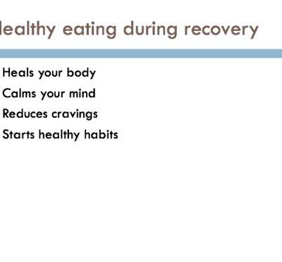 Nutrition to Promote Healing