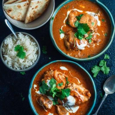 Clean Eating Butter Chicken