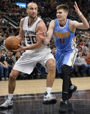 Leonard has 34, Spurs overcome Gasol's injury to top Nuggets