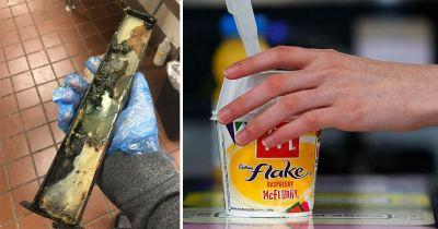 McDonald's employee's photos of a filthy McFlurry machine are making us cringe