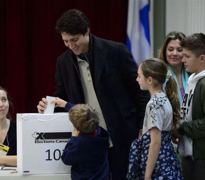 Trudeau's Liberal party appears set to win the most seats in Canada's Parliament