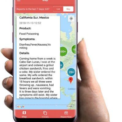 Iwaspoisoned app gives the public and public health officials new tools