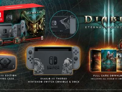 Diablo 3 Nintendo Switch bundle packs a custom console, the game and all its DLC