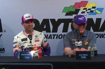 Denny Hamlin & Joe Gibbs on Daytona 500 win, J.D Gibbs | FULL POST-RACE PRESS CONFERENCE