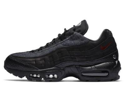 Nike's Air Max 95 Gets Coated in Wooly Grey and Black