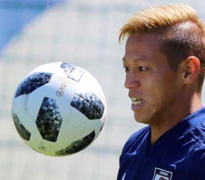 Keisuke Honda signs for Melbourne Victory in Aussie A-League
