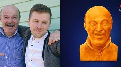 How To Get A Kraft Cheese Sculpture Of Your Dad For Father's Day For The Best Gift Ever