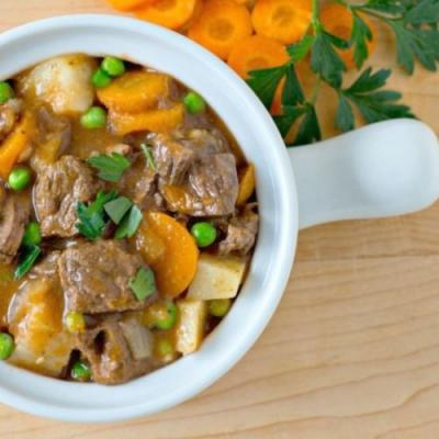 Apple Cider Instant Pot Beef Stew