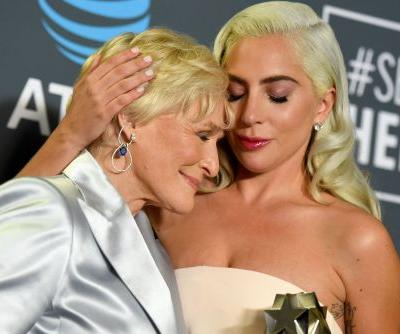Glenn Close, Lady Gaga tie at Critics' Choice Awards