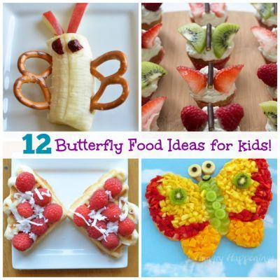 Top 12 Adorable Butterfly Food Ideas for Kids