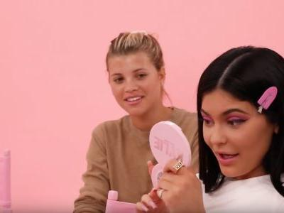 Sofia Richie Quietly Judges Khloé Kardashian and Kylie Jenner During Hilarious Drunk Makeup Tutorial: 'The Floor Is a Mess!'