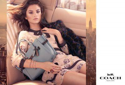 Selena Gomez Is The Face Of Coach's Fall Campaign, Shot By Steven Meisel