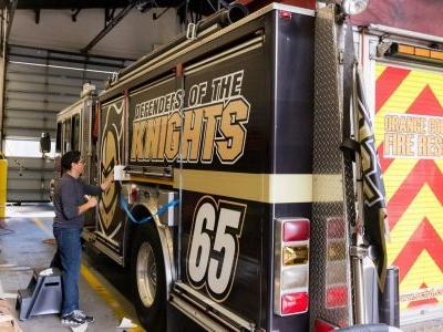 UCF football fans donate conference championship tickets to first responders
