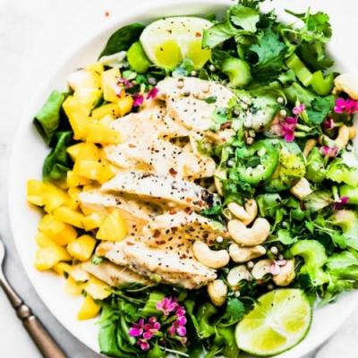 Curried Chicken Salad with Chutney