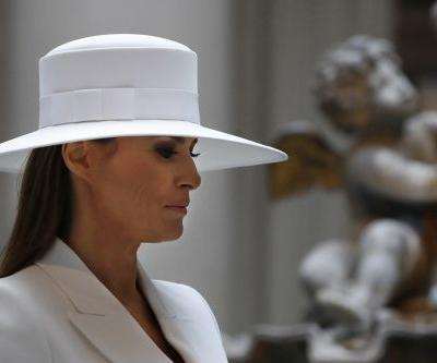 Melania back at White House after five-day hospital stay