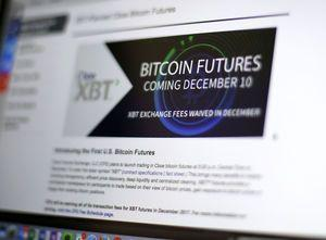 Bitcoin futures begin trading on CME, price declines