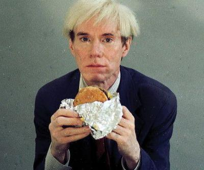 Andy Warhol Eats Burger King Whopper In Strangest Super Bowl Commercial