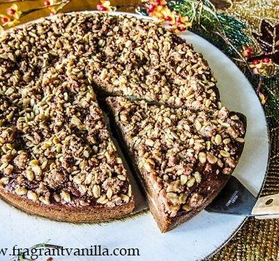 Vegan Pumpkin Patch Coffeecake
