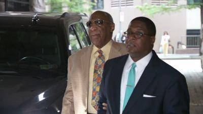 A member of the jury pool got some laughs from Bill Cosby - but he wasn't chosen