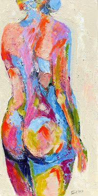 """Painting: """"Barely There II"""""""